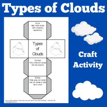 Clouds Craft Activity