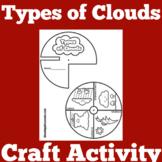 Types of Clouds | Kindergarten 1st 2nd 3rd Grade | Craft A