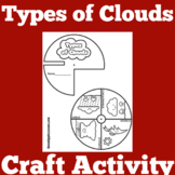 Types of Clouds Worksheet Activity
