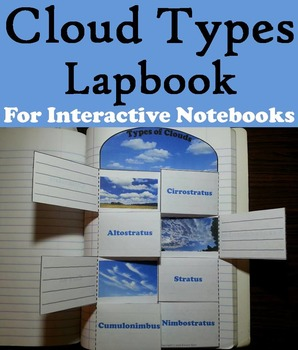 Types of Clouds Activities Bundle: Poster, Foldable, Science Experiment, etc.