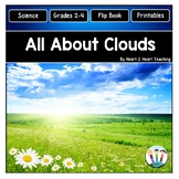 All About Clouds: Types of Clouds Activities & Flip Book f