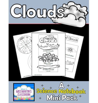 Clouds Interactive Notebook