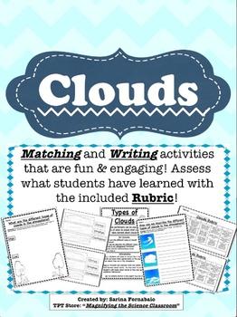 Clouds Activities Set (CCSS)