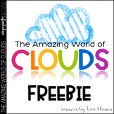 FREE - Clouds Activity - The Amazing World of Clouds