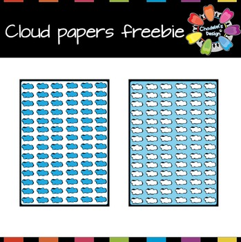 Clouds Backgrounds Freebie