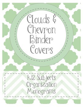 Jade Green Binder Covers
