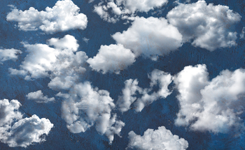 Clouds Clipart, PNG Photoshop Overlays