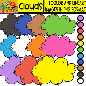 Clouds - Cliparts Set - 11 Items