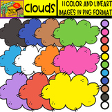 Clouds - Cliparts Set - 11 Items