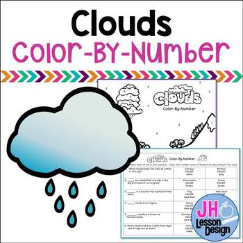 Clouds Color-By-Number
