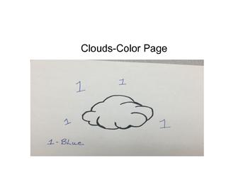 Clouds- Color Page