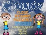 Clouds {Differentiated Close Reading Passages & Questions}