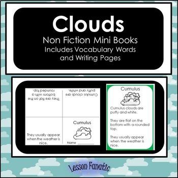 Clouds Non Fiction Mini Books