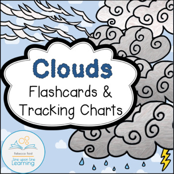 Clouds Flashcards and Tracking Charts