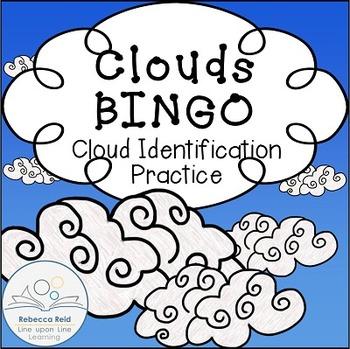 Clouds Identification BINGO cards (30 unique)