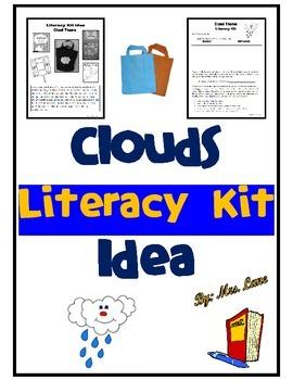 Clouds Literacy Kit Idea