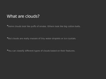Clouds PowerPoint Presentation