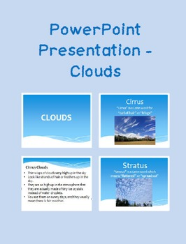 Clouds Powerpoint 4th Grade