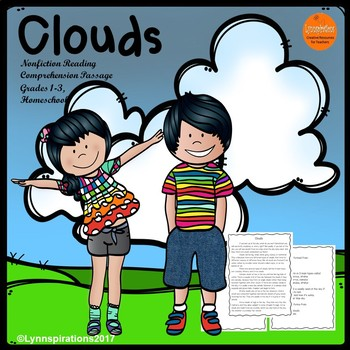 Clouds Reading Comprehension