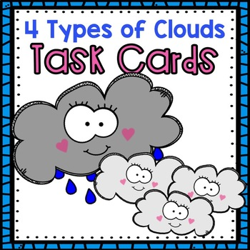 Clouds Task Cards