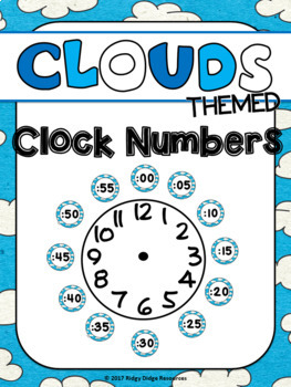 Clouds Theme Classroom Decor bundle
