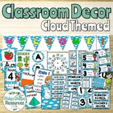 Clouds Theme Classroom Decor Bundle