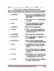 Clouds, Weather and Fronts Vocabulary Quiz Worksheet