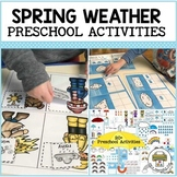 Spring Weather Preschool Math and Literacy Bundle