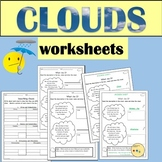 Clouds - Worksheets
