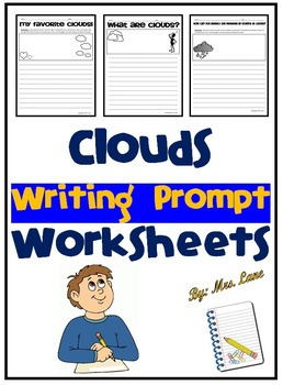 Clouds Writing Prompt Worksheets