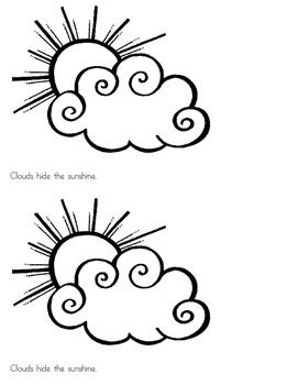 Clouds - emergent reader
