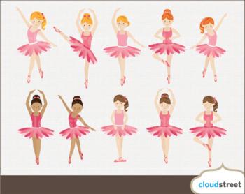 Cloudstreetlab: Ballerina , Ballet Dance Clip Art