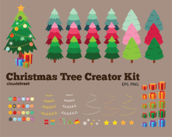 Cloudstreetlab: Build A Christmas Tree Clip Art