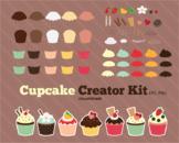 Cloudstreetlab: Build A Cupcake , Sweet Cupcakes Clip Art