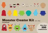 Cloudstreetlab: Build A Monster Clip Art