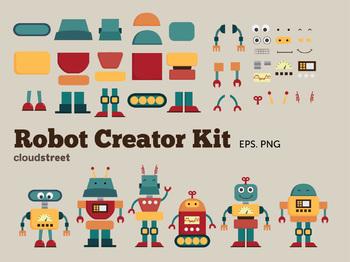 Cloudstreetlab: Build A Robot Clip Art