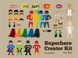 Cloudstreetlab: Build A Superhero , super hero boys