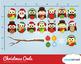 Cloudstreetlab: Christmas Owls , Cute Owl Winter Clip Art