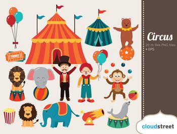 Cloudstreetlab: Circus Clip Art