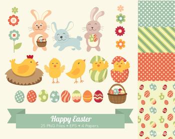 Cloudstreetlab: Easter Clip Art