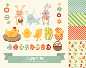 Cloudstreetlab: Easter Clip Art
