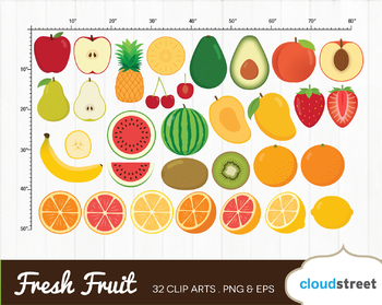 Cloudstreetlab: Fruit, Fresh Fruits Clip Art