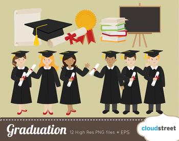 Cloudstreetlab: Graduation Clip Art