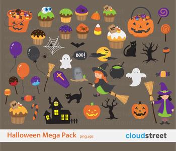 Cloudstreetlab: Halloween Clip Art