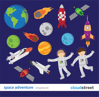 Cloudstreetlab: Space Adventure , Planets and Solar System
