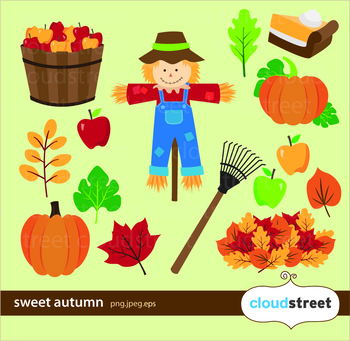 Cloudstreetlab: Sweet Autumn , Fall Clip Art