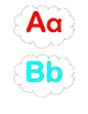 Cloudy Alphabets Aa - Zz