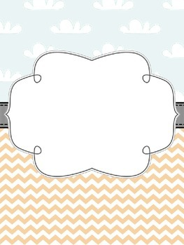 Cloudy Day Binder Covers