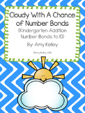 Cloudy With A Chance Of Number Bonds- Kindergarten Addition Practice