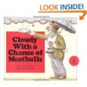 Cloudy With A Chance of Meatballs Paperback